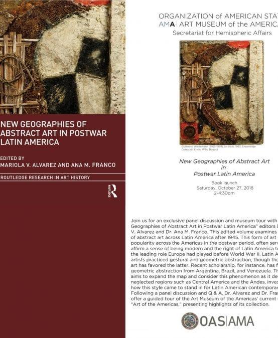 Lanzamiento del libro New Geographies of Abstract Art in Postwar Latin America