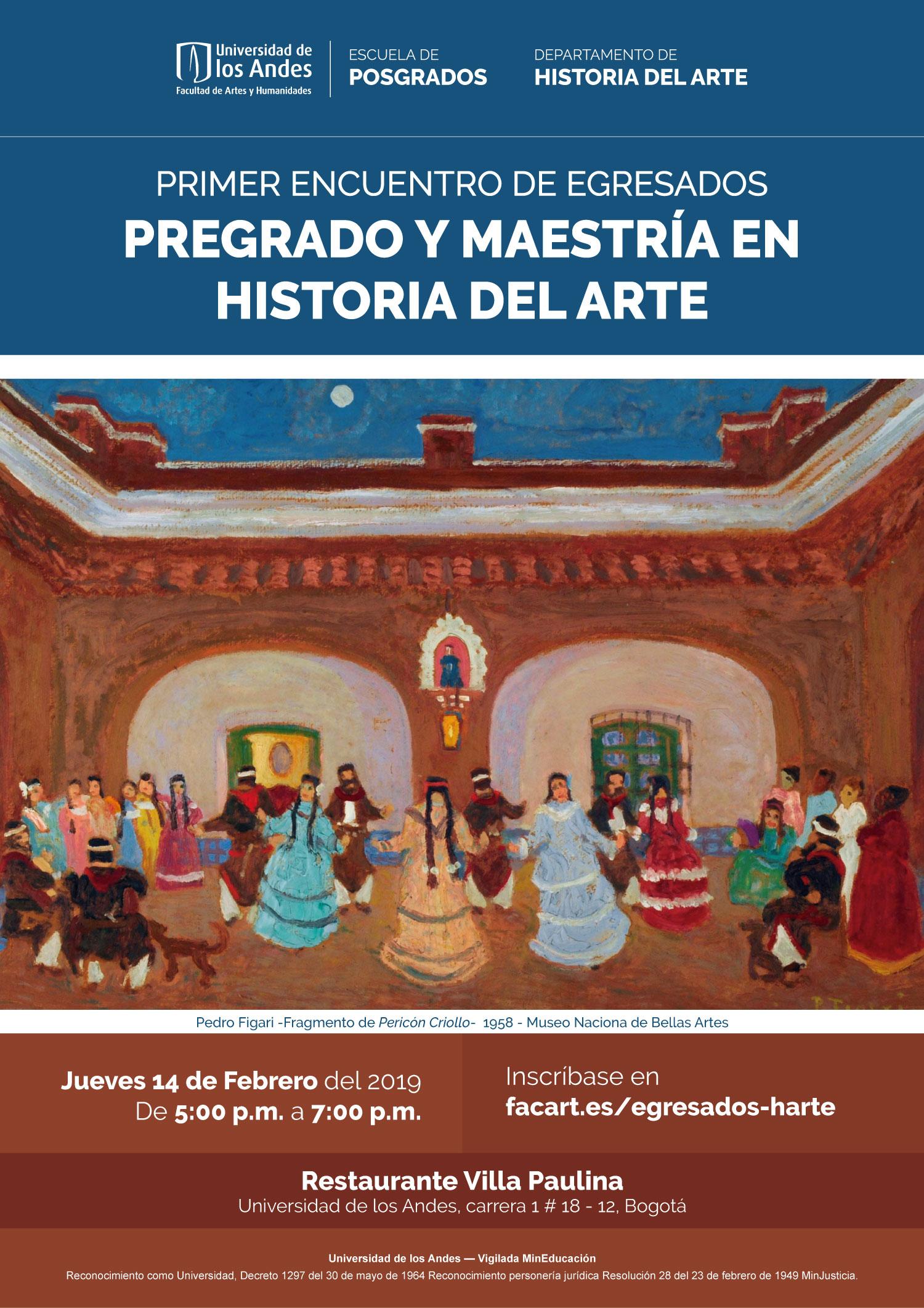 Encuentro de egresados de Historia del Arte