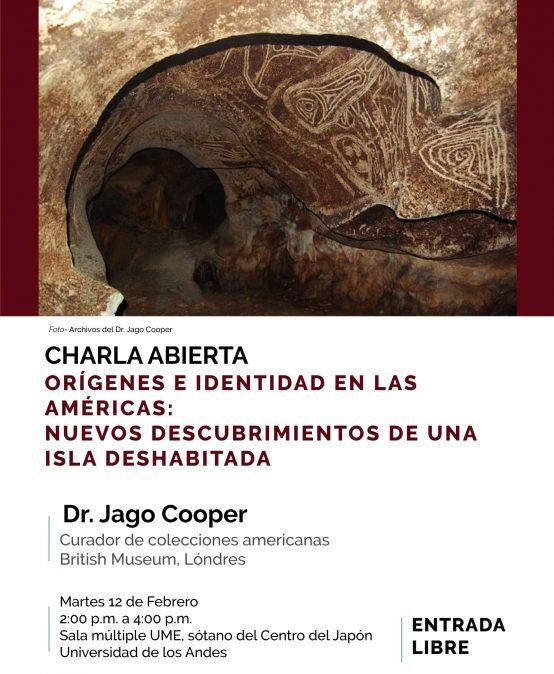 Charla Orígenes e identidad en las Américas: nuevos descubrimientos de una isla deshabitada