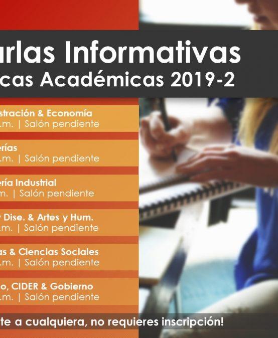 Charlas informativas Prácticas Académicas 2019-2