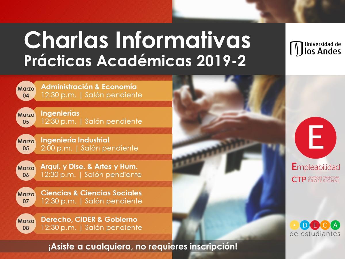 Charlas Informativas prácticas académicas