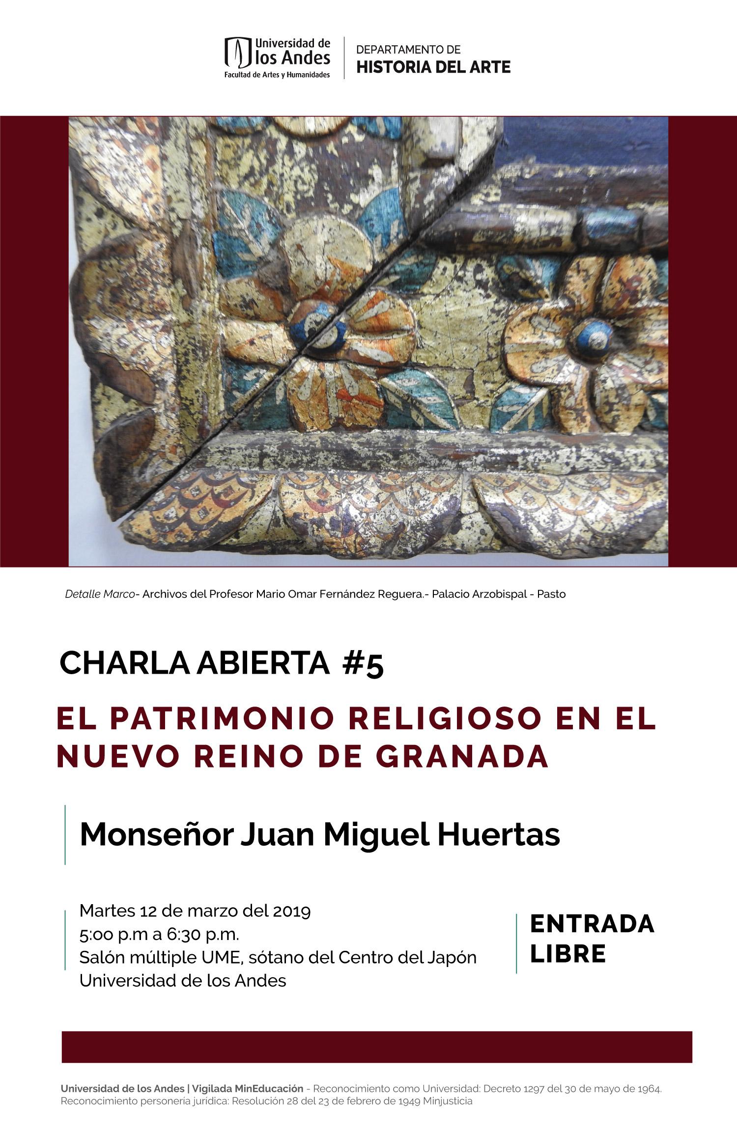 Patrimonio religioso en la Nueva Granada