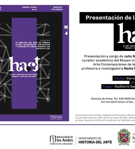 Presentación de la revista H-ART