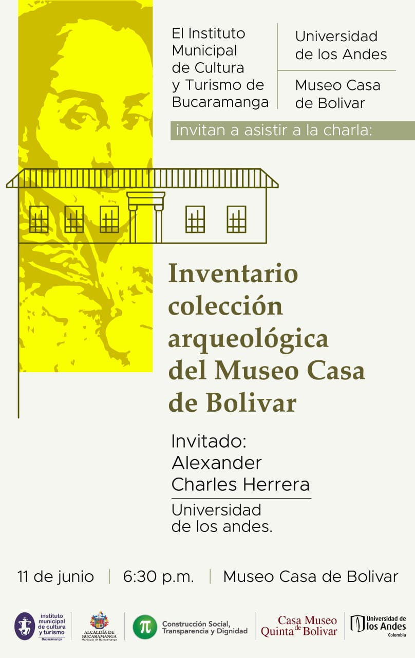 Inventario colección arqueológica del Museo Casa de Bolívar