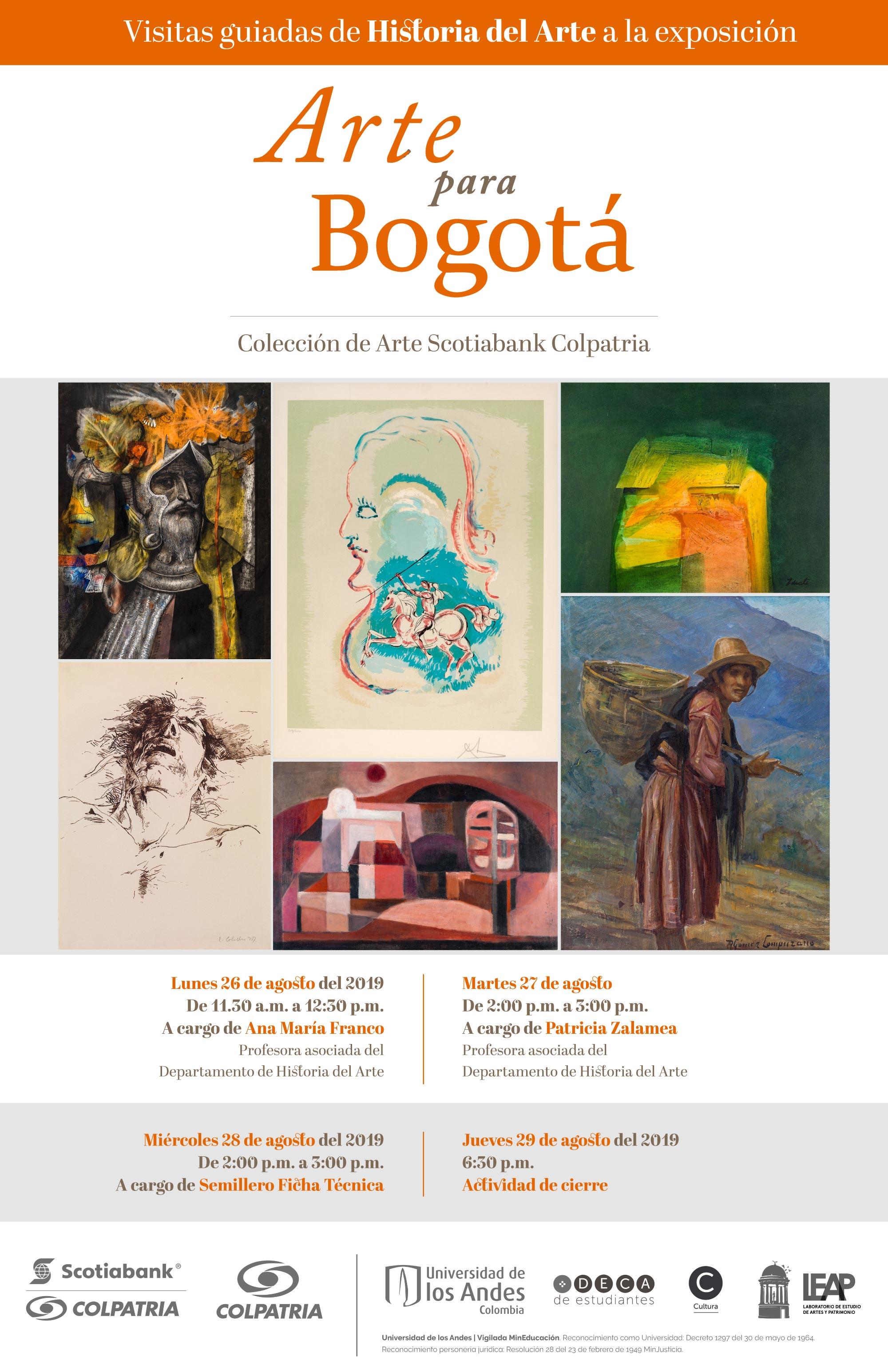 Visitas Arte para Bogotá