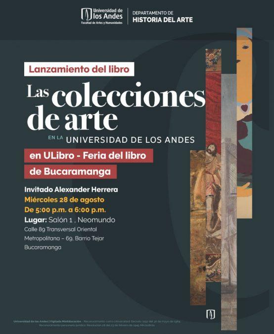 Las colecciones de arte de la Universidad de los Andes en ULibro de Bucaramanga