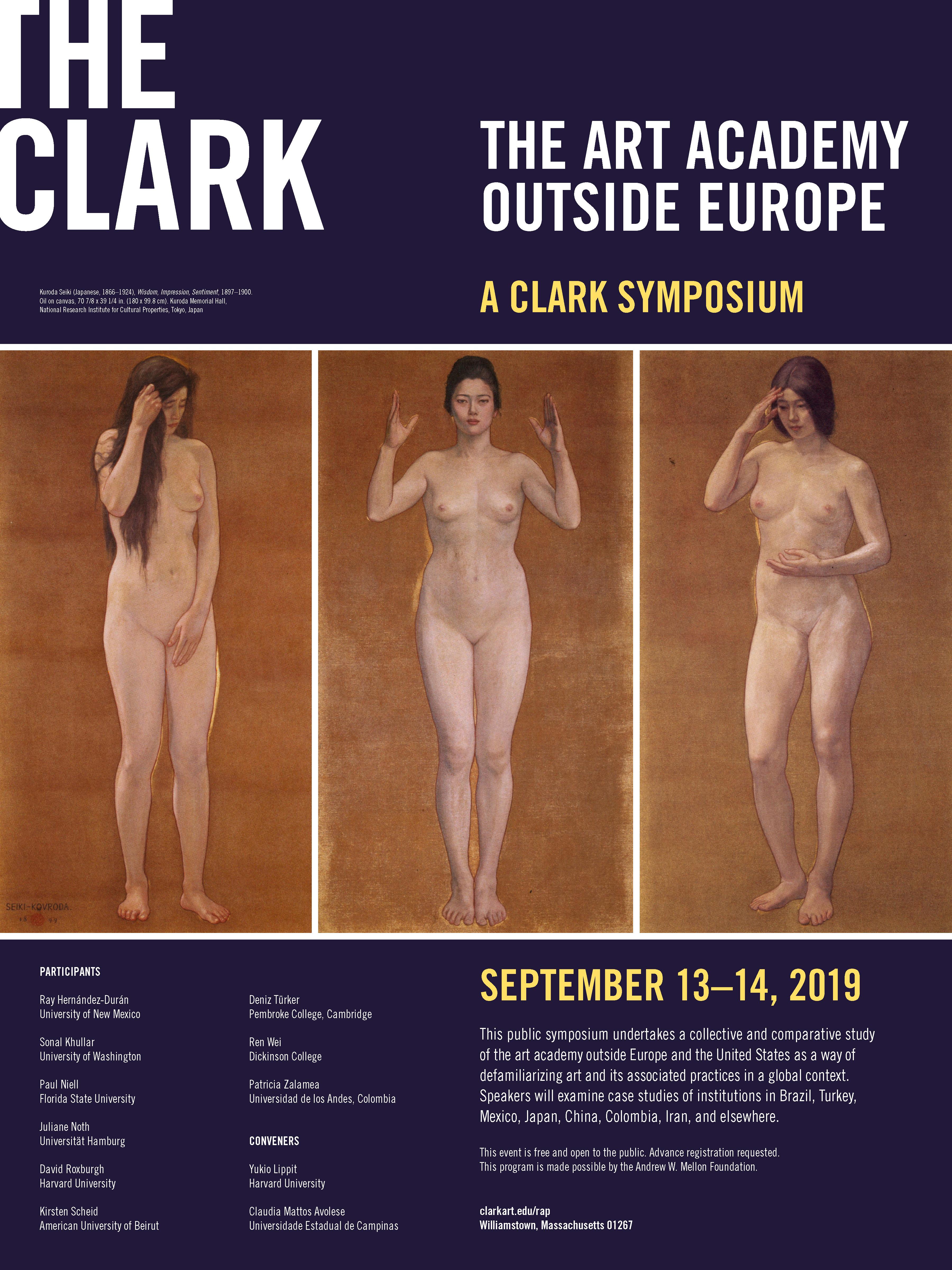 Patricia Zalamea en el Simposio: The art academy outside Europe