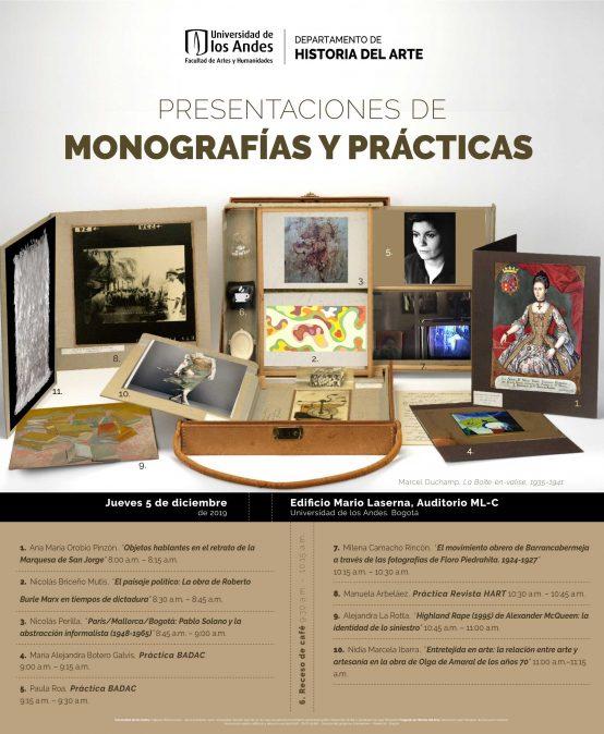 Presentaciones de monografías y prácticas – Historia del Arte