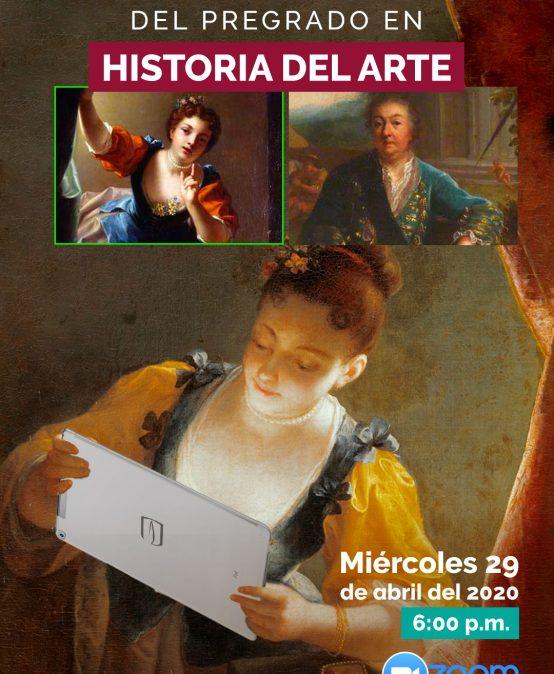 Charla informativa del pregrado en Historia del Arte