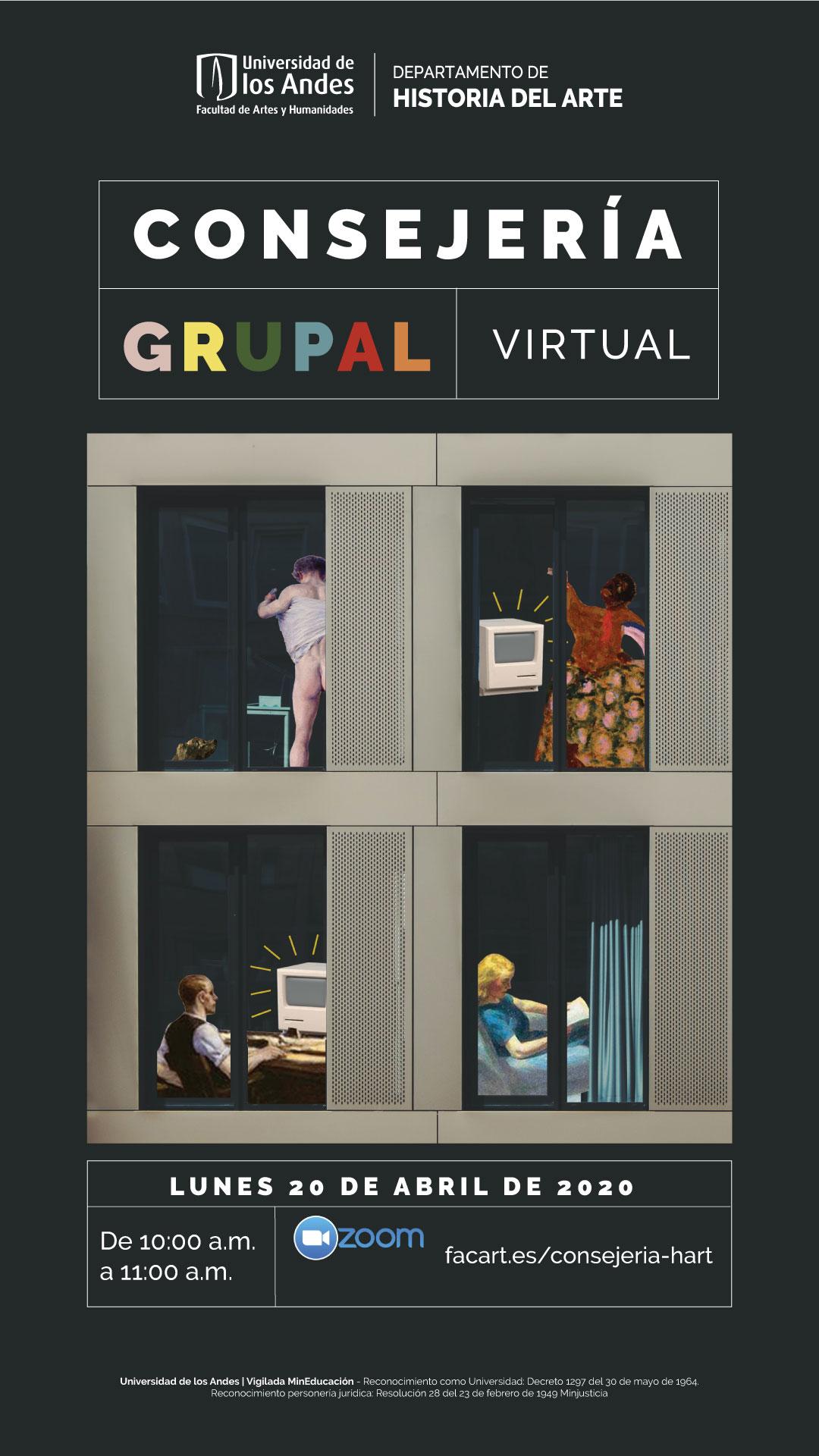 Consejería grupal virtual