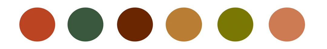 Anexo 10. Paleta de color The Royal Tenenbaums