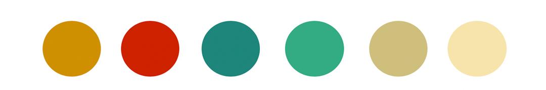 Anexo 8. Paleta de color Moonrise Kingdom