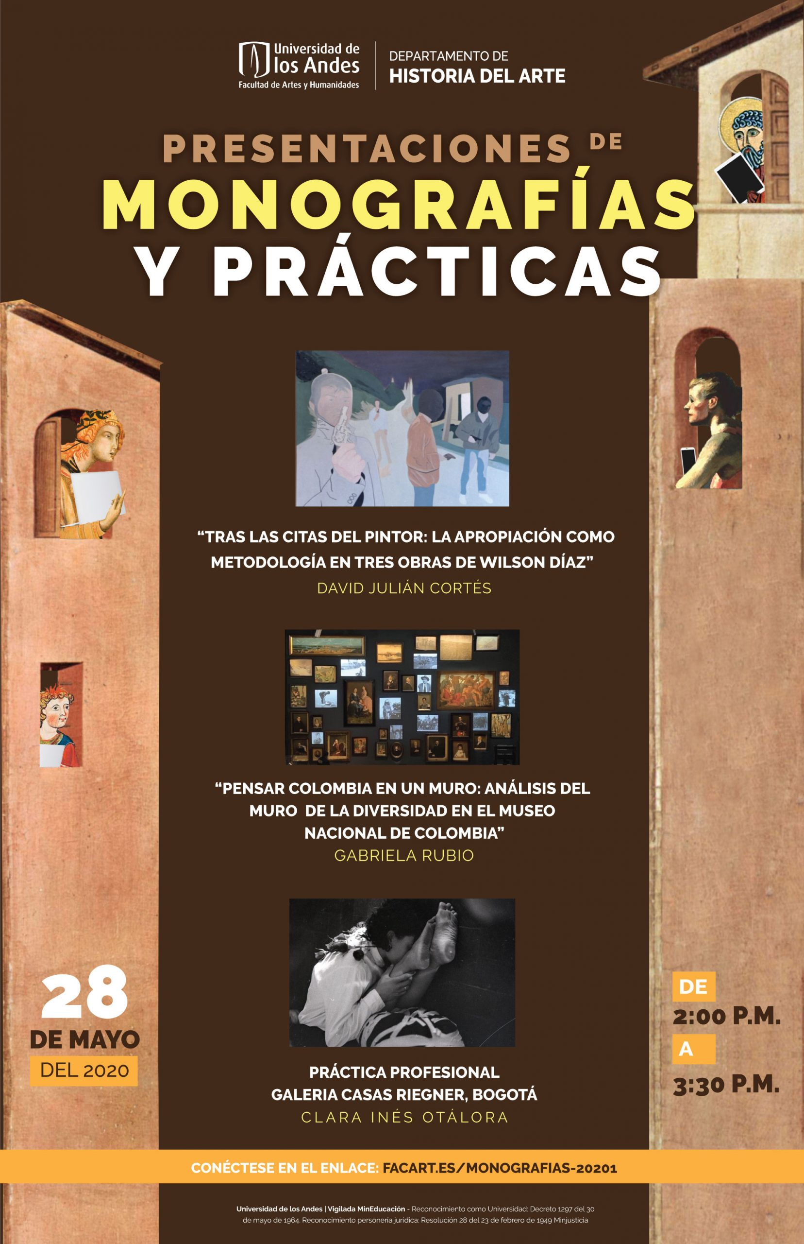 Presentación de monografías y prácticas