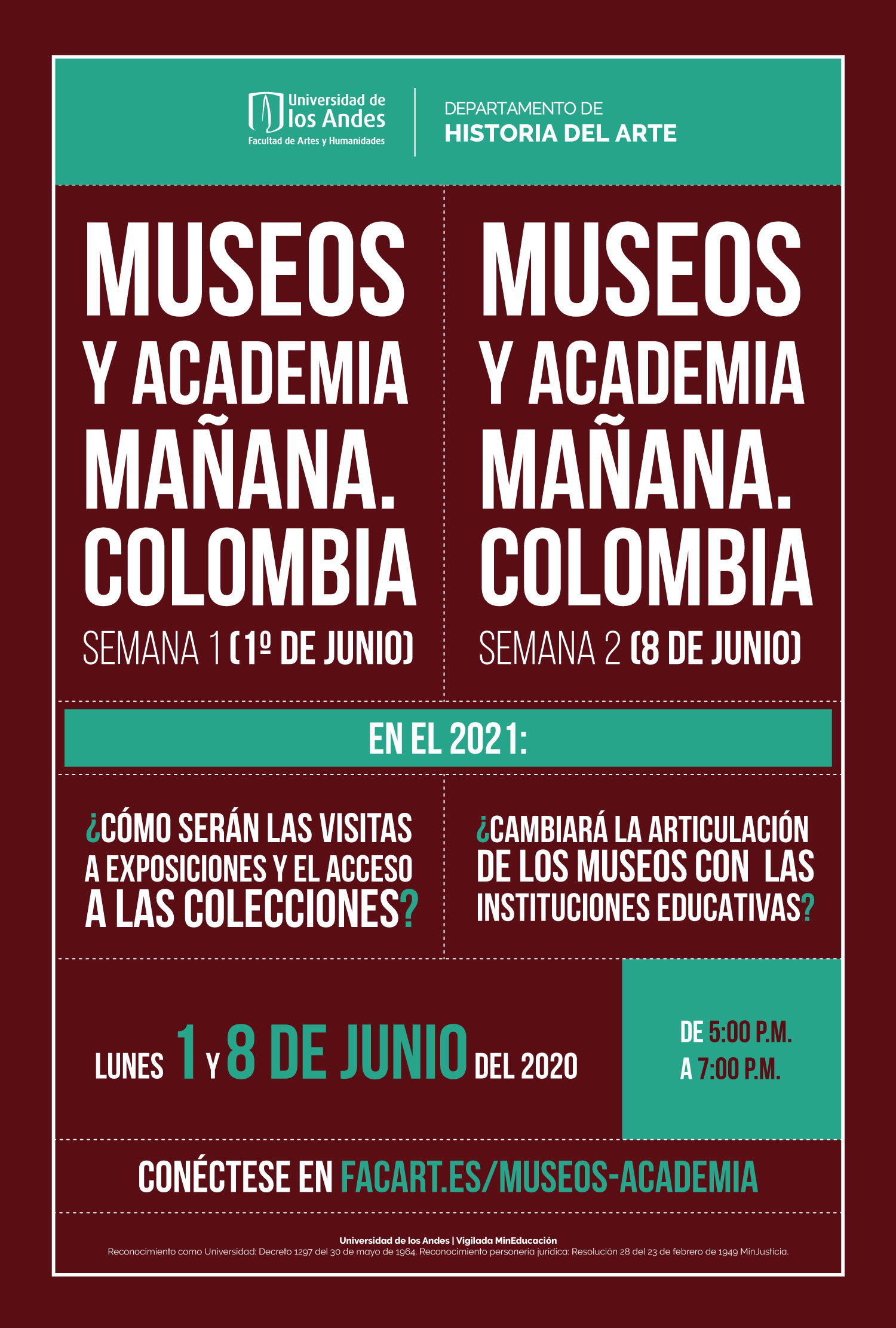 Museos y academía mañana Colombia