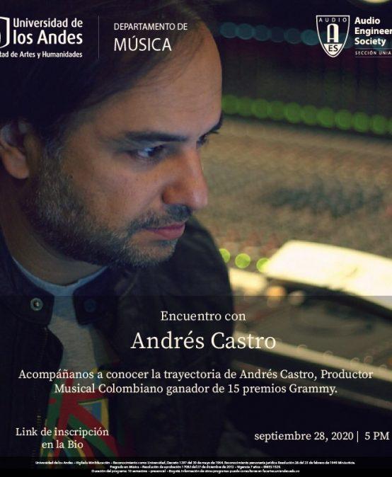 Encuentro con Andrés Castro | Charlas AES