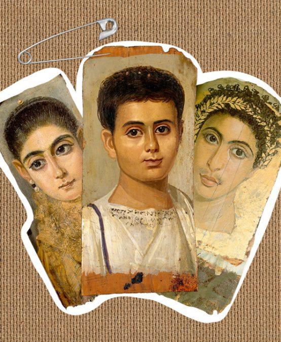 Retrato del niño Eutyches del periodo romano de Egipto: Los Imperdibles con Patricia Zalamea