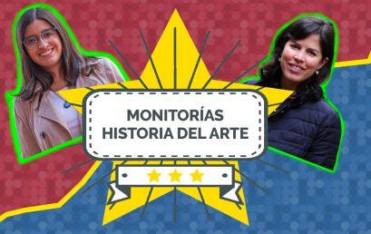 El equipo de Patricia Zalamea y su monitora Luisa Fernanda Borja | Historia del Arte