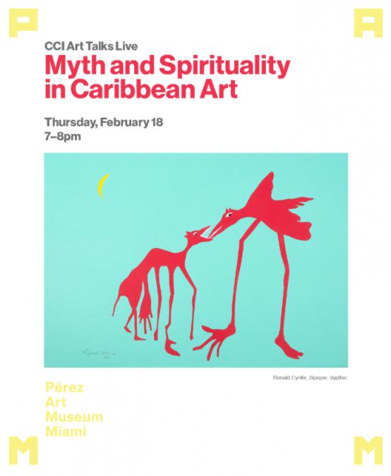 CCI Art Talks Live: Myth and Spirituality in Caribbean Art