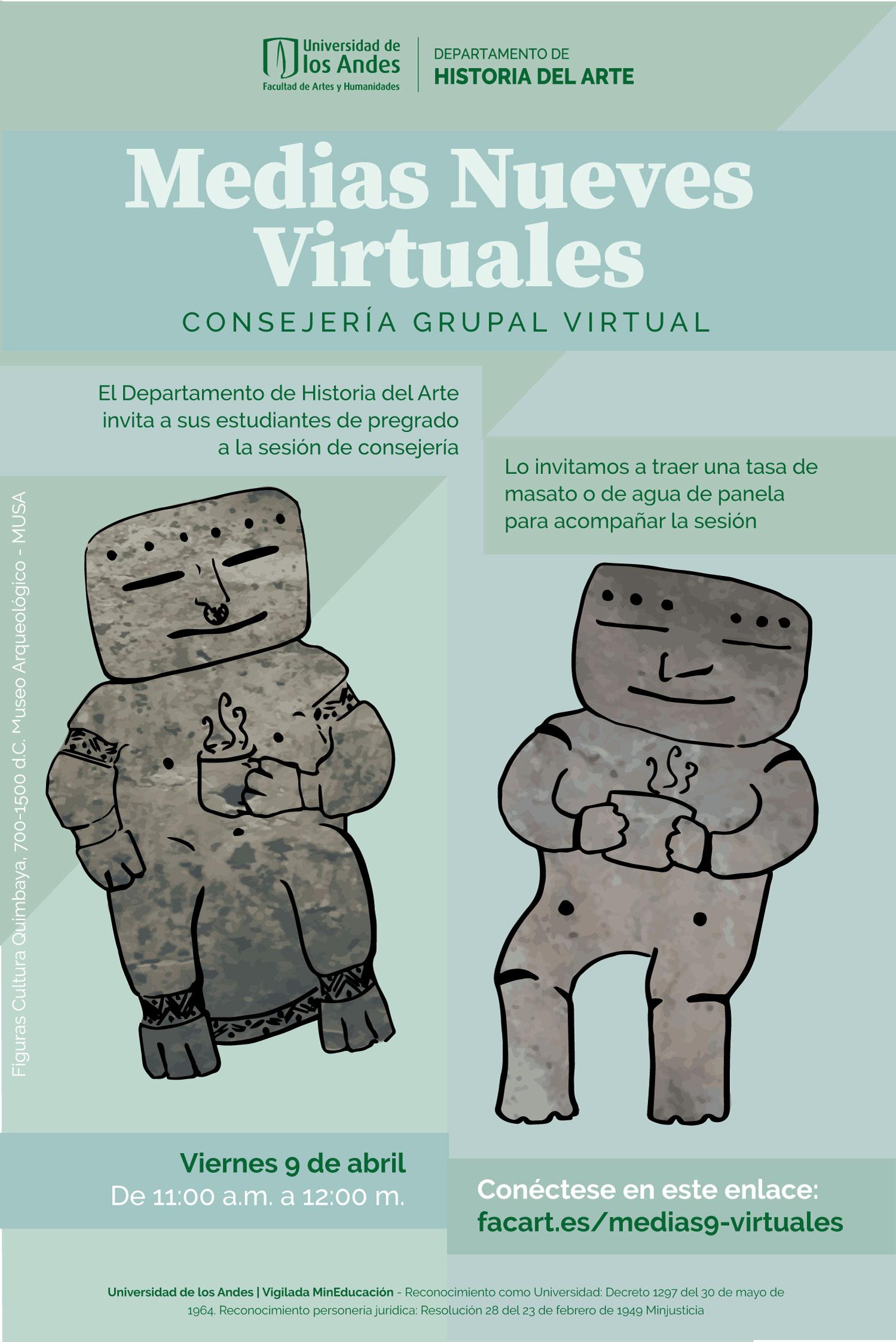 Medias nueves virtuales