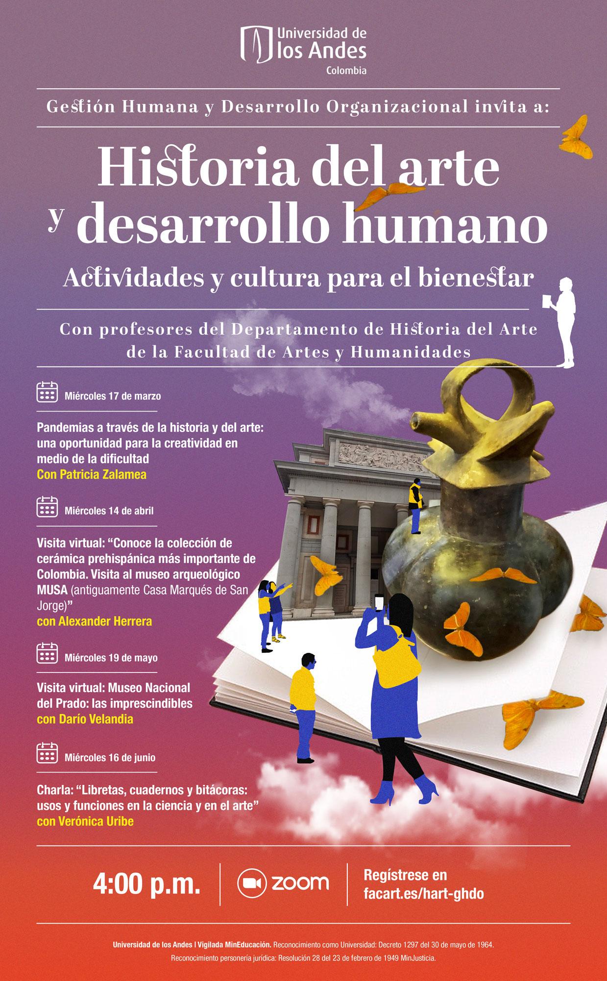 Historia del arte y desarrollo humano: actividades y cultura para el bienestar
