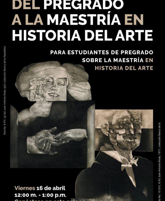 Del pregrado a la maestría en Historia del Arte