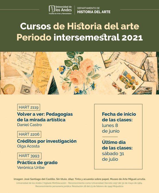 Cursos de Historia del arte vacaciones 2021