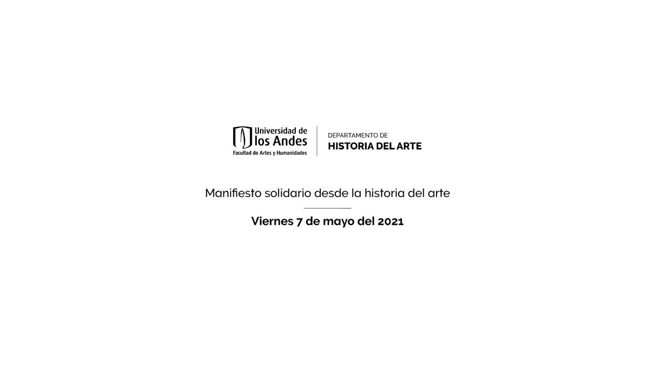 Manifiesto solidario desde la historia del arte