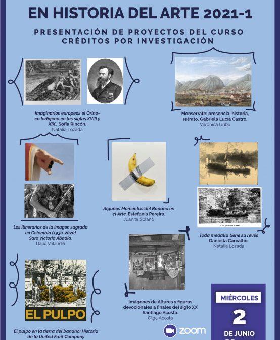 Nuevas investigaciones en Historia del Arte 2021-1