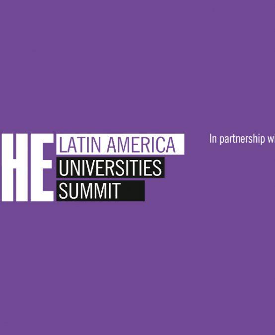 Times Higher Education Latin America Universities Summit. Participa Patricia Zalamea. Evento de libre acceso.