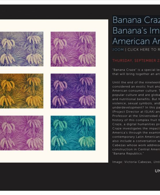Banana Craze: Tracing Banana's Imagery in Latin American Art